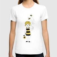 bees T-shirts featuring Bees by Flora