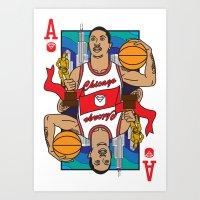 Chicago's Ace Art Print