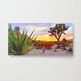 Vivid Daydream in Joshua Tree Metal Print