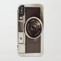 camera iPhone & iPod Cases featuring Camera by Tuky Waingan