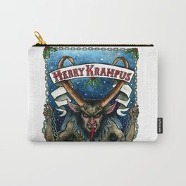 Merry Krampus Carry-All Pouch