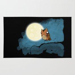 night owl rides again Rug