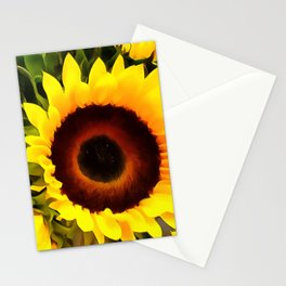 Sunflower 16 Stationery Cards