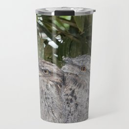 Tawny Frogmouth Bird Travel Mug