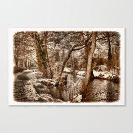 'Lazy River' Canvas Print