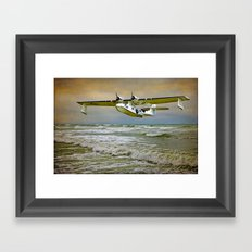 Catalina Flying Boat Framed Art Print