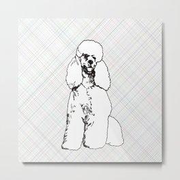 My Poodle Metal Print