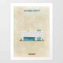 Damien Hirst Art Print