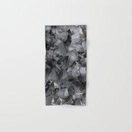 Crackle Geo_Grey Hand & Bath Towel