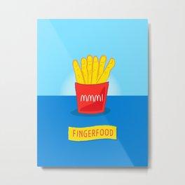 Fingerfood Metal Print
