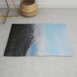 Blue Behind The Mountains Rug