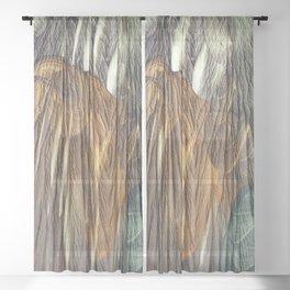 Earth Nia Sheer Curtain