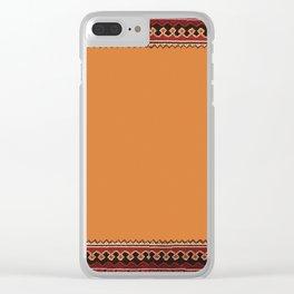 Persian Carpet Design Clear iPhone Case