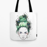 pride Tote Bags featuring Pride by Nora Bisi