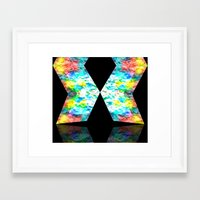 destiny Framed Art Prints featuring Destiny by inkko
