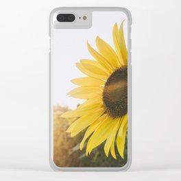Golden Sun, II Clear iPhone Case