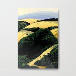 Ridge Trail View Metal Print