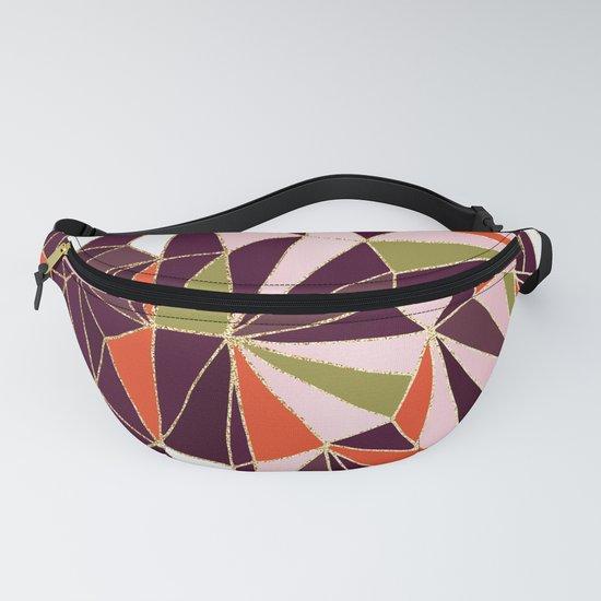 New Art Deco Geometric Pattern - Burgundi and Pink #deco #buyart by dominiquevari