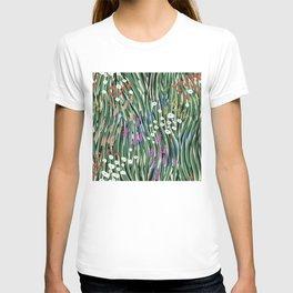 Windy Day In Garden T-shirt