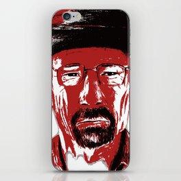 »Heisenberg« sees red iPhone Skin