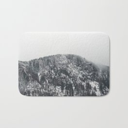 Snowy Mountain - Forest Adventure Begins Bath Mat
