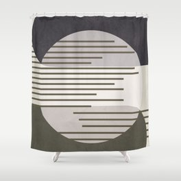 Abstract Geometric Art 50 Shower Curtain