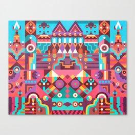 Schema 9 Canvas Print