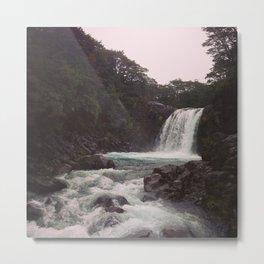 Tawhai Falls Metal Print