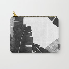 Banana Leaves BW Carry-All Pouch