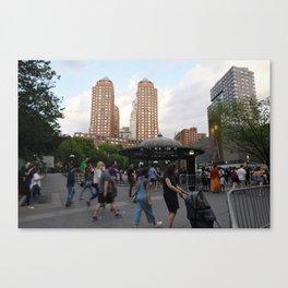 Union Square Action Canvas Print