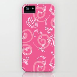 Krishna's Foot print iPhone Case