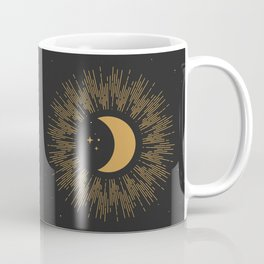 Gold Moon Coffee Mug