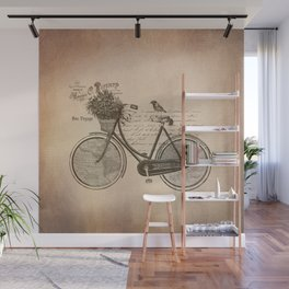 Antique Bicycle Wall Mural