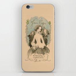 Jane Eyre by Charlotte Bronte iPhone Skin