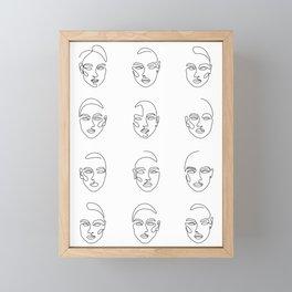 Girl Time Framed Mini Art Print