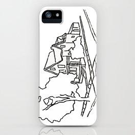 Dearborn Street Sketch iPhone Case