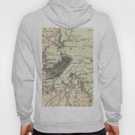 Vintage Map of Portland Maine (1914) Hoody