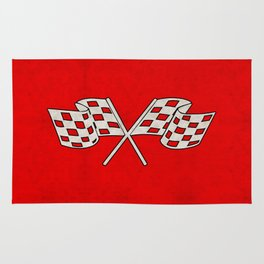 Checkered Flag Rug