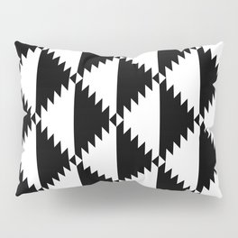 Aztec 3 B&W Pillow Sham