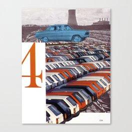 4 Carbon Credits Canvas Print
