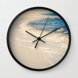 Sand and Waves Wall Clock