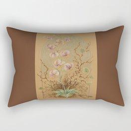 Golden Lily - fairytale illustration Rectangular Pillow
