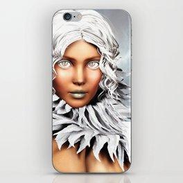 Burning Chill iPhone Skin