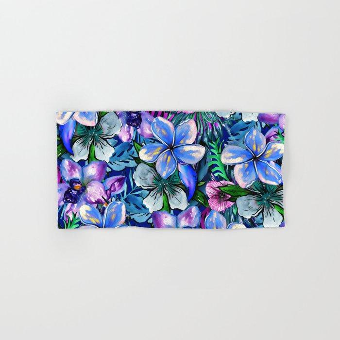 My Tropical Garden 5 - variation Hand & Bath Towel