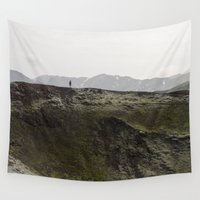iceland Wall Tapestries featuring ICELAND VII by Gerard Puigmal