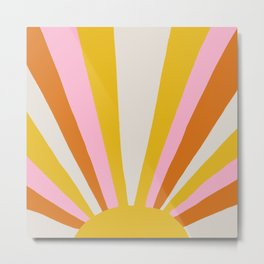 sunshine state of mind Metal Print