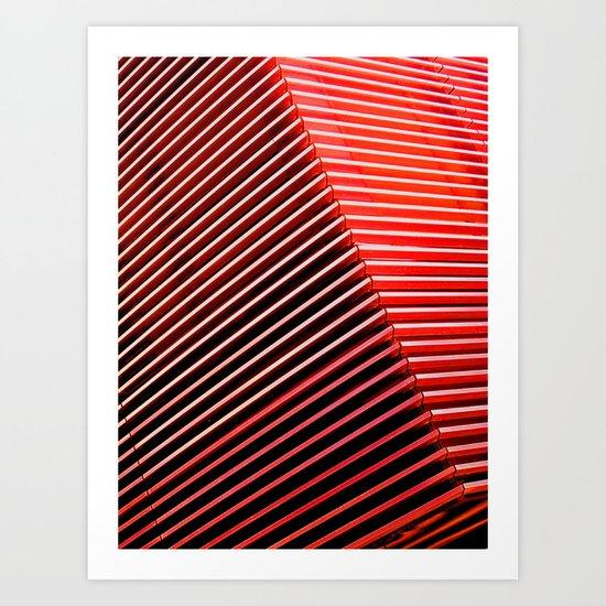 The Grid - Vivido Series Art Print
