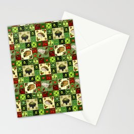 Mexican Restaurant Tiles Stationery Cards