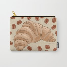 Croissant Carry-All Pouch