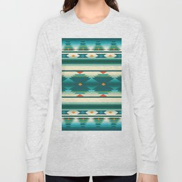 American Native Pattern No. 160 Long Sleeve T-shirt